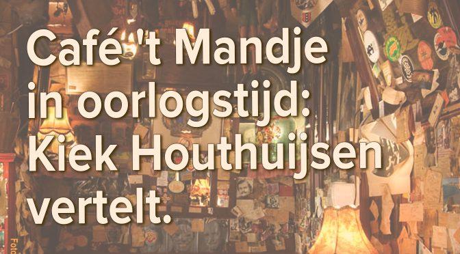 5 mei 2017 Café 't Mandje is Huis van Verzet