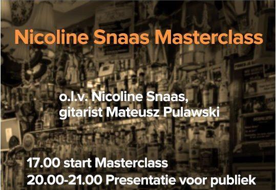 Nicoline Snaas Masterclass