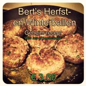 ballen herfst en winter van Bert GROOT